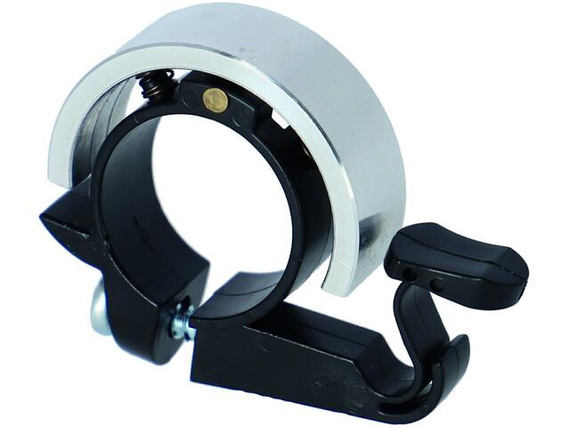 XLC DD-R01 Ring Bell Ø22,2mm, srebrny/czarny